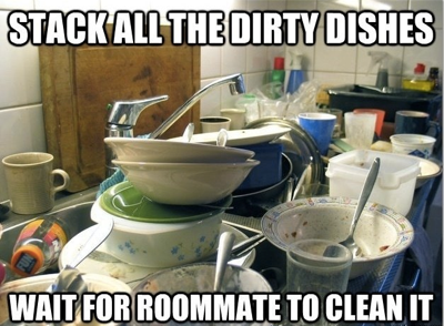 bad roommate behaviors
