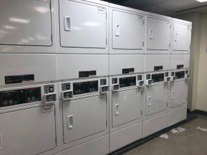 IU laundry room, dryers
