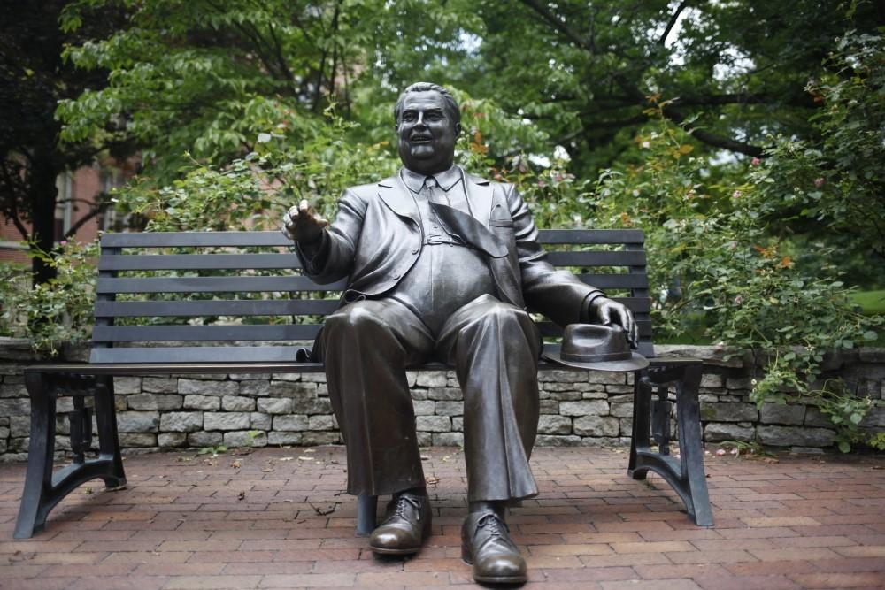 Herman B. Wells statue