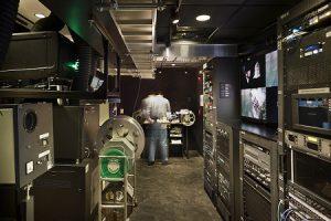 A media room