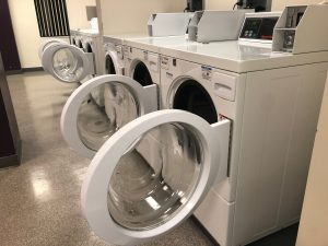 An IU laundry room