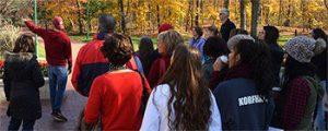 Campus tour walks through IU