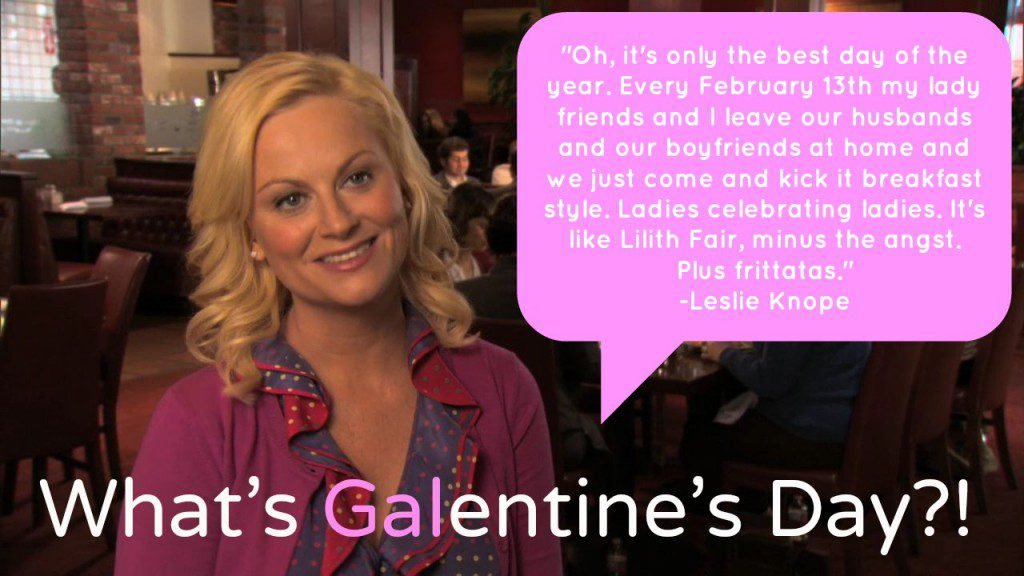 Gif: What's Galentine's Day