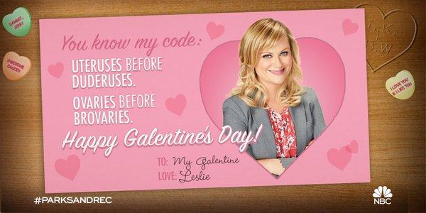 Parks and Rec, Valentine's card