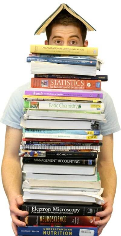 3 EASY Ways to Save Money on Textbooks!