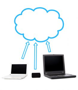 Various devices connected to the cloud