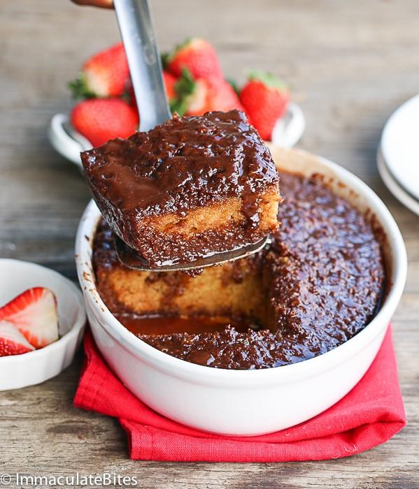 Chocolate Mava pudding