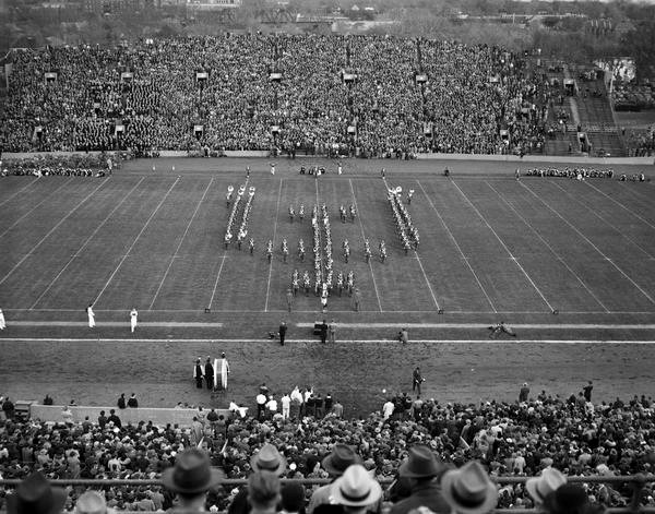 IU Football stadium old photo