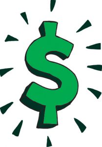 Graphic '$' sign