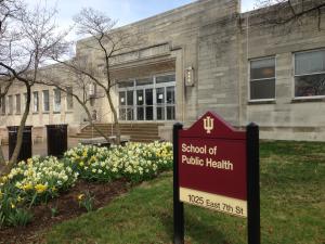 School of public health sign board