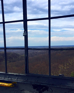 Day shot of Fire tower