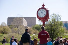 IU clock tower