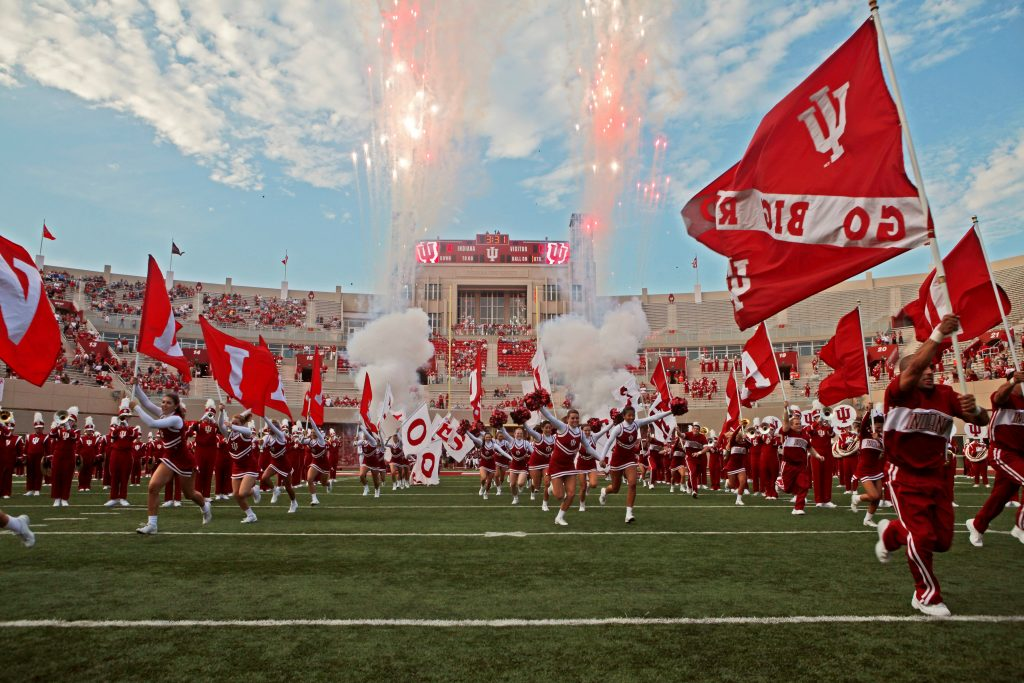 Pre game event of IU football
