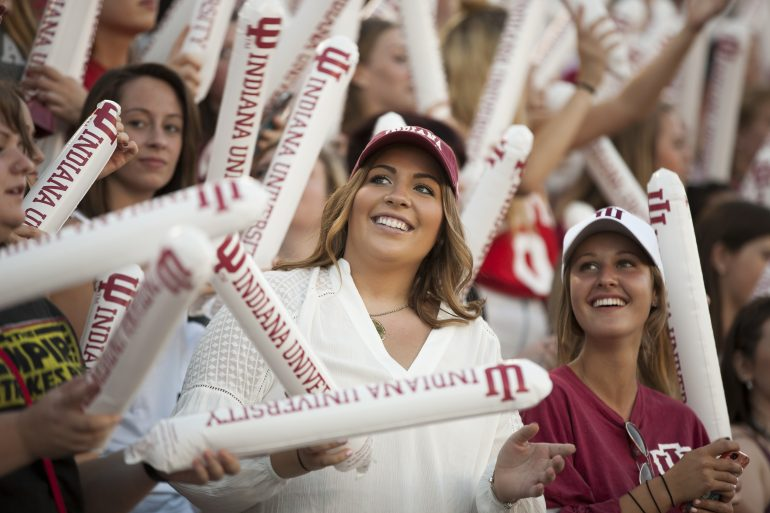 Traditions and Spirit of IU during Welcome Week
