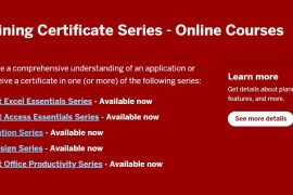 IT Training Certificate Series