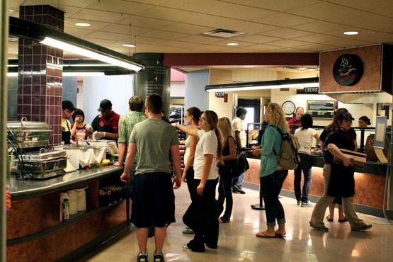Indiana University food court