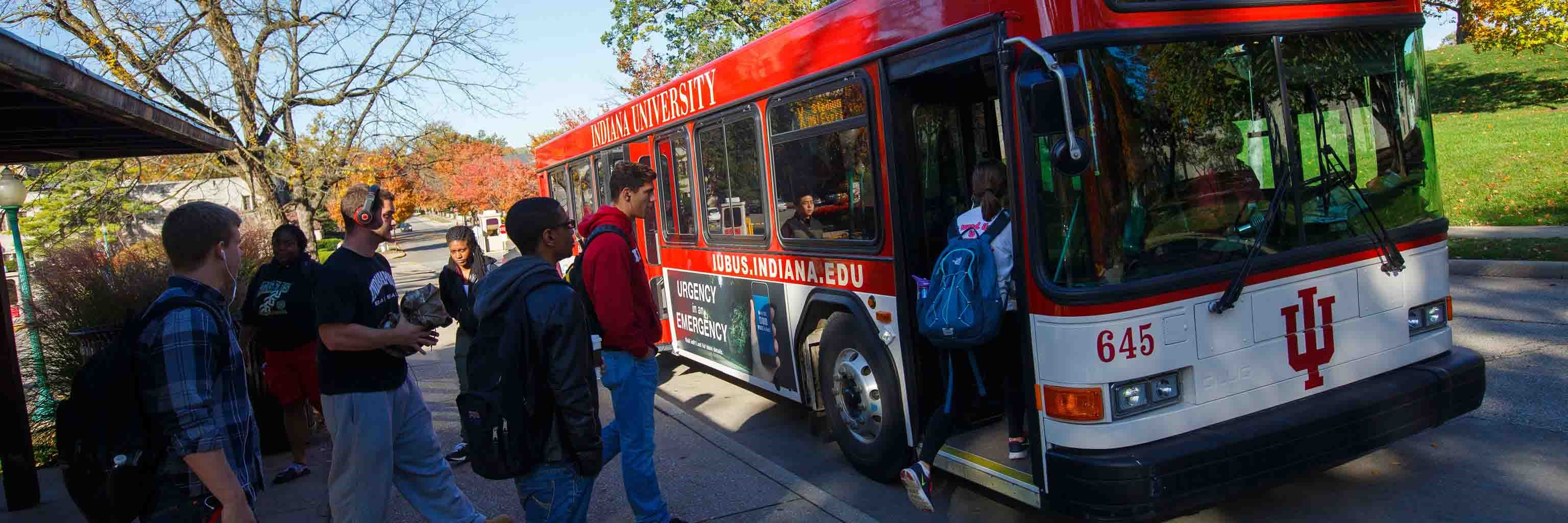 IU campus bus