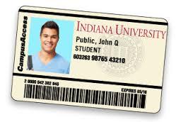 IU Student ID card