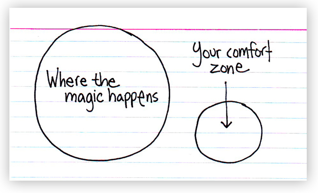 4 Easy Ways to Get Out of Your Comfort Zone
