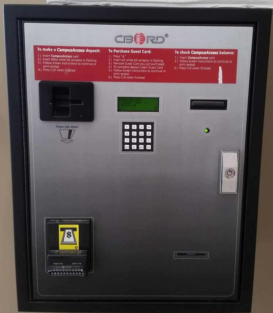 Campus Access Deposit Machine