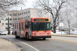 Indiana University bus