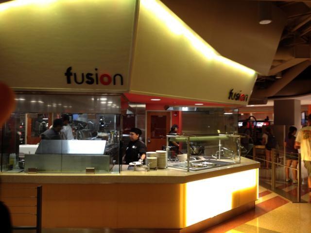 Fusion salad bar