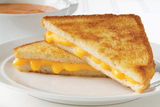 A grilled cheese
