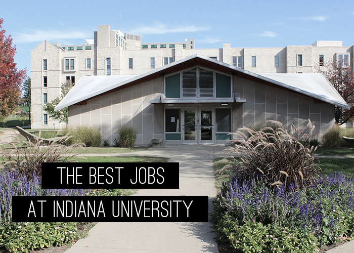 The best jobs at Indiana University