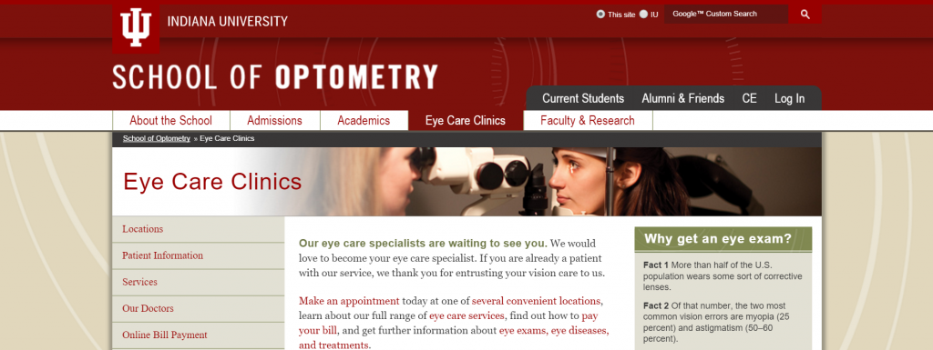 School of Optometry