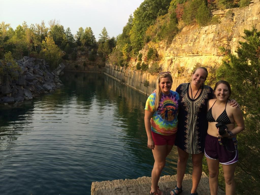 Jackie, me, and Cappy at the quarries... the moment I described is just that, a moment.No pictures were taken due to enjoying the moment.