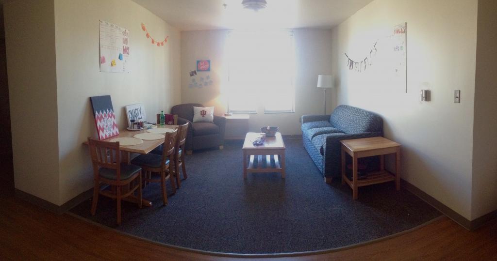dorm living room