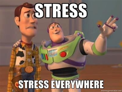 Stress, stress everywhere