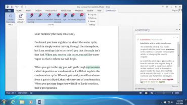 A word document